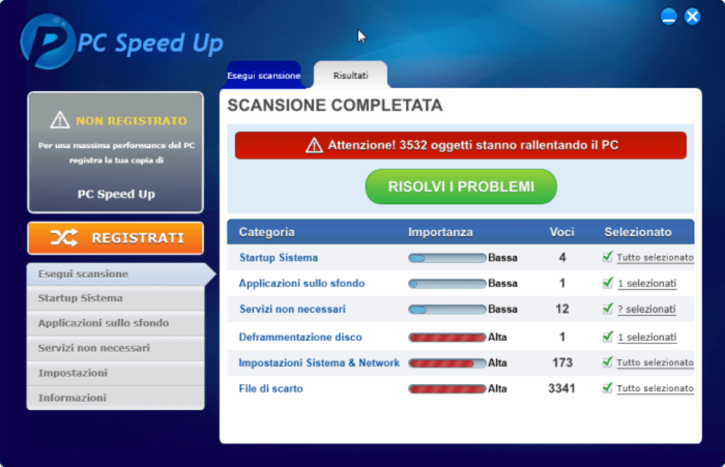 Pc speed up download - Finestre popup bloccate ...