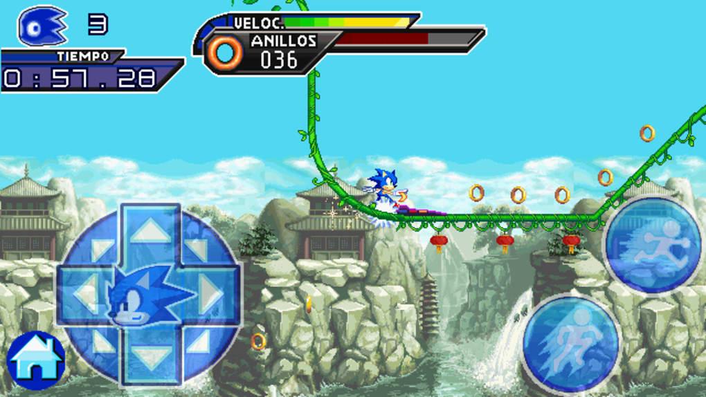 o jogo sonic unleashed para celular