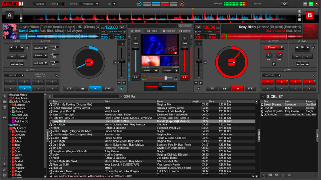dj mixer software for laptop free download