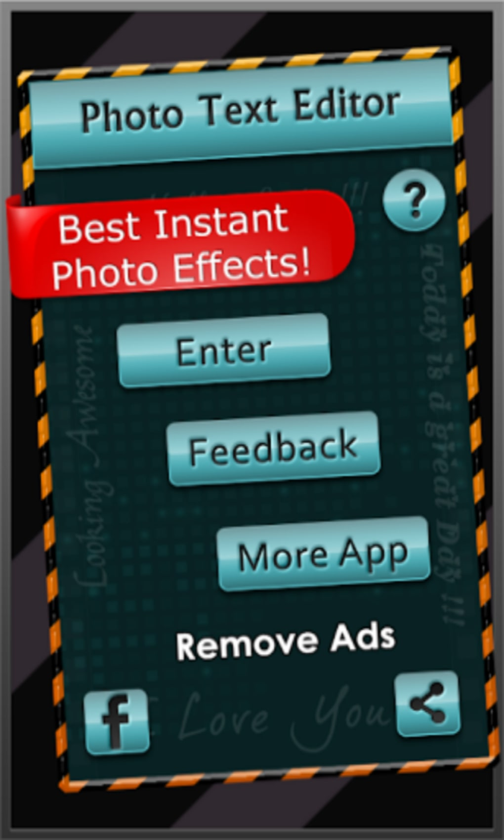 Photo Text Editor Fun Camera