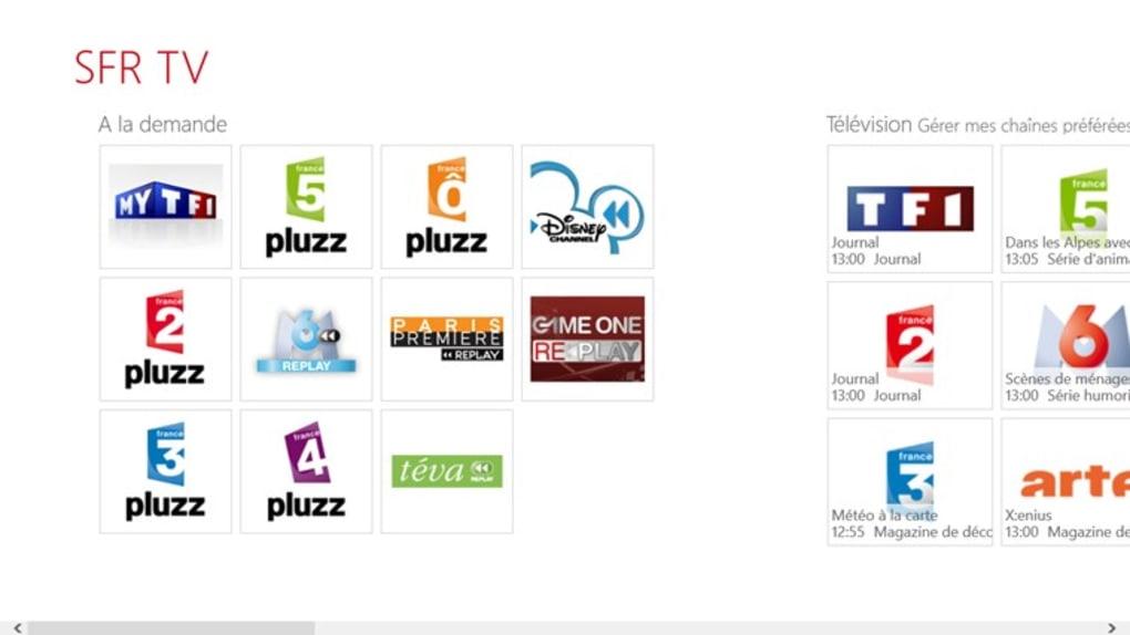 Sfr Tv Pour Windows 10 Windows Telecharger