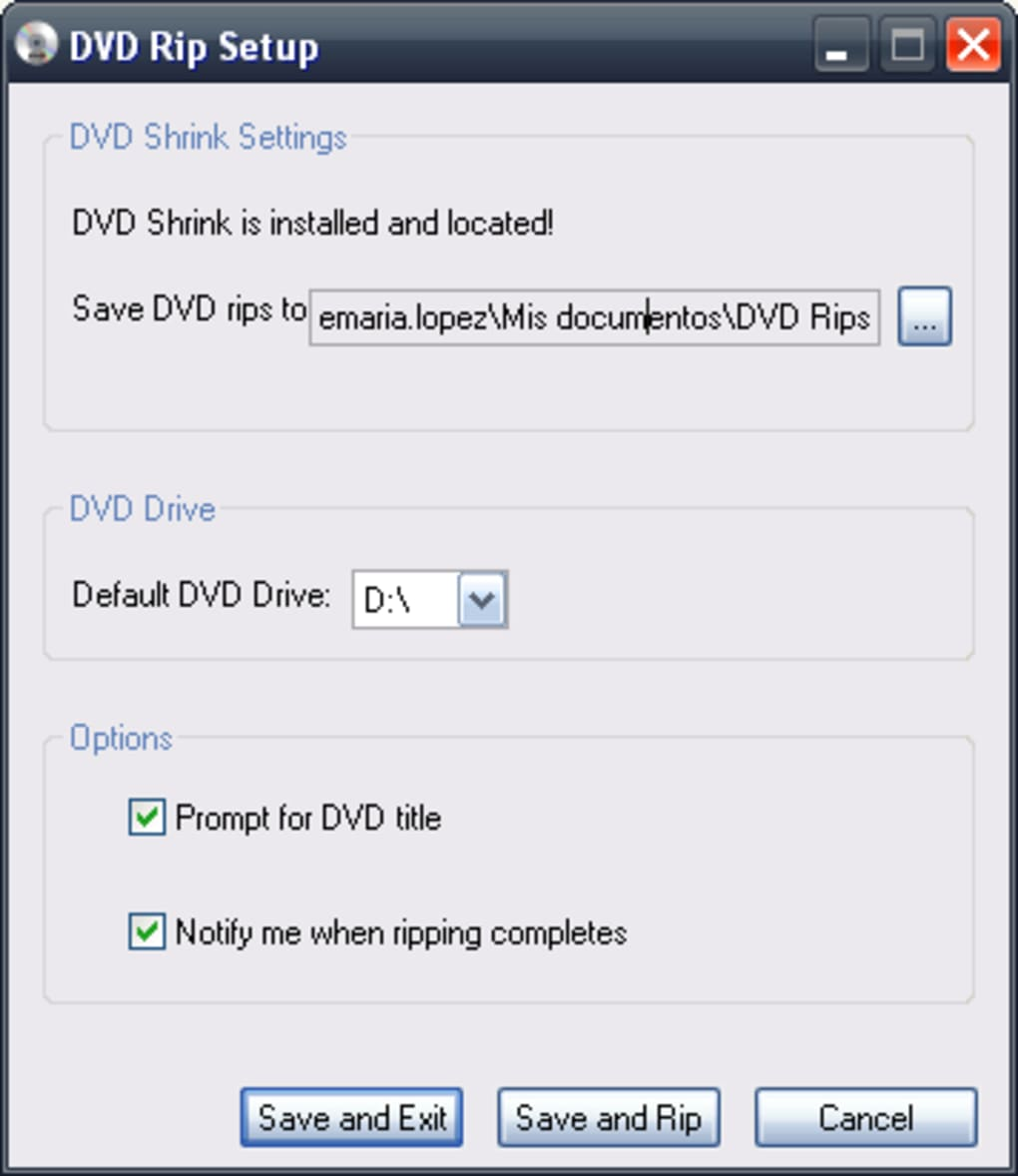 o novo dvd shrink