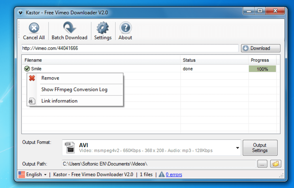 Batch Downloader