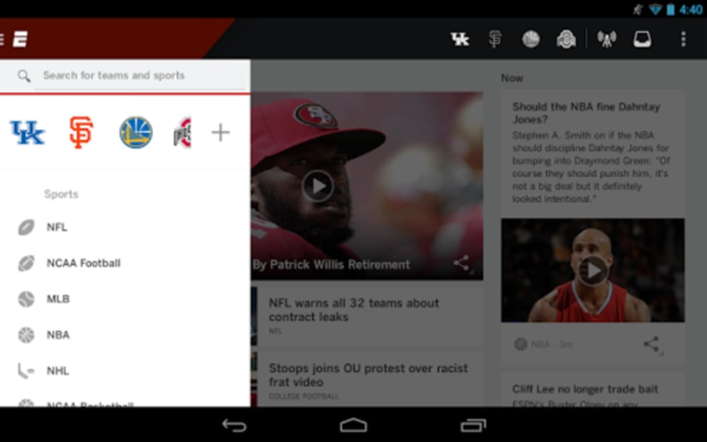 ESPN for Android - Download