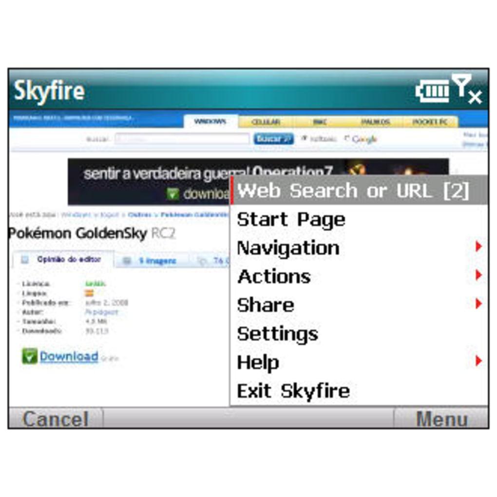 navegador skyfire para pc