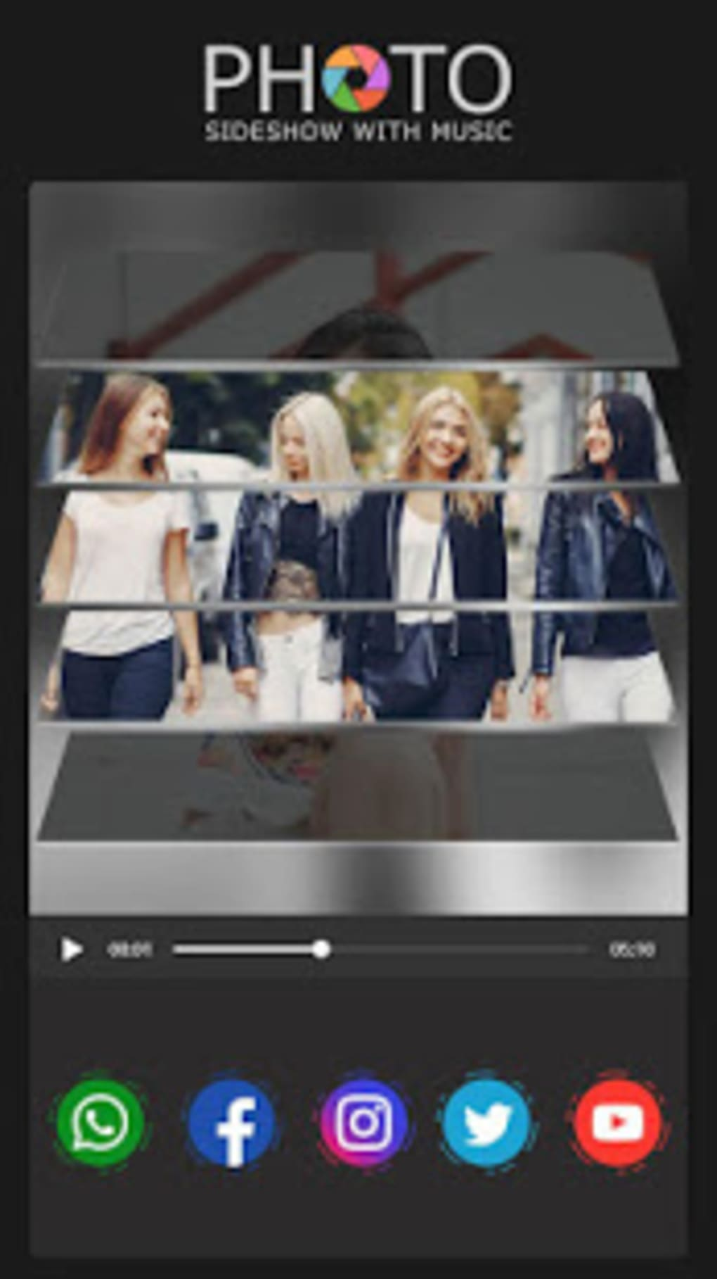 Photo Slideshow with Music : Video Maker for Android - Download