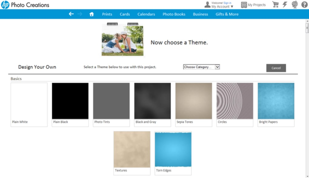 HP Photo Creations - Download