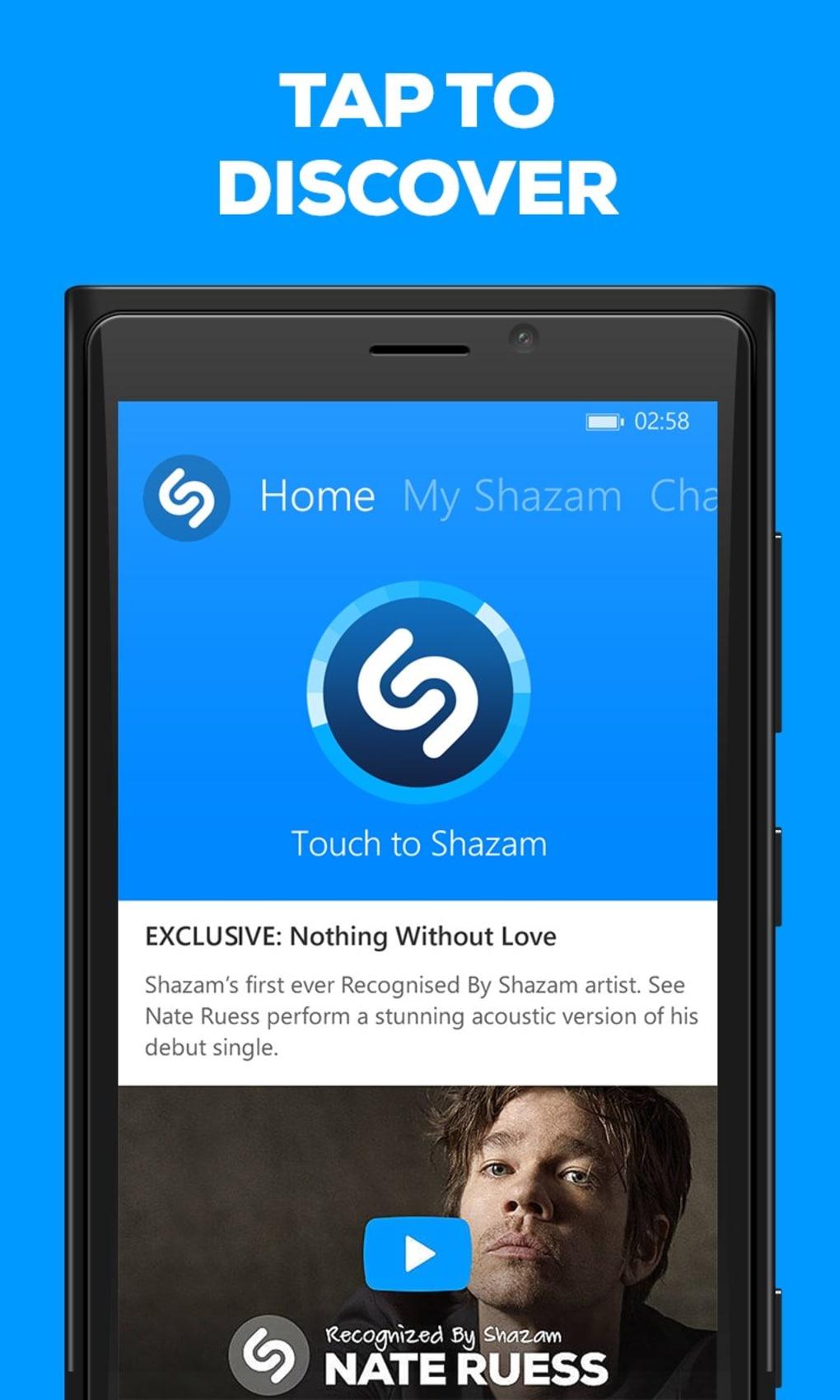 shazam pour blackberry gratuitement