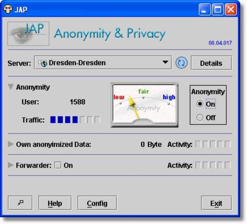 PRIVACY ANONYMITY TÉLÉCHARGER JAP