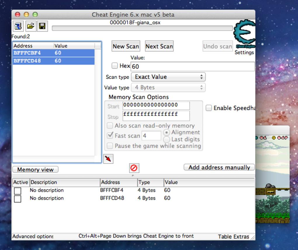 Cheat Engine. 1/6 Screenshots