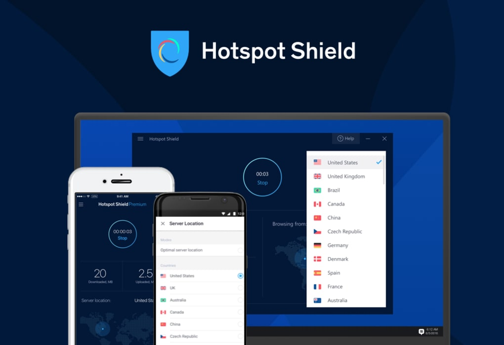 gratuitement hotspot shield 1.49