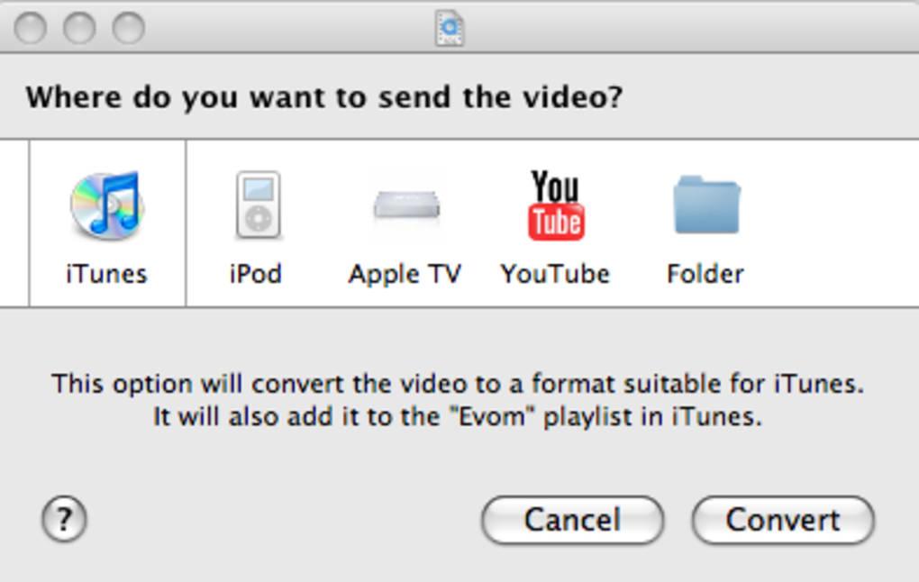 Evom for Mac - Download