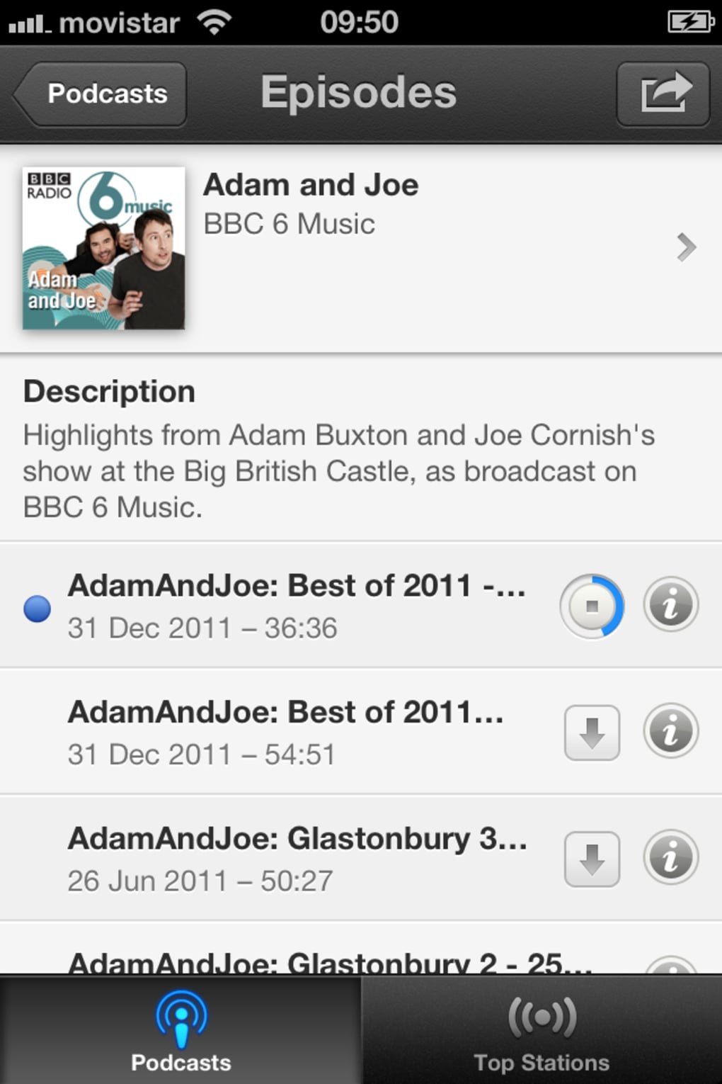 Podcasts for iPhone - Download