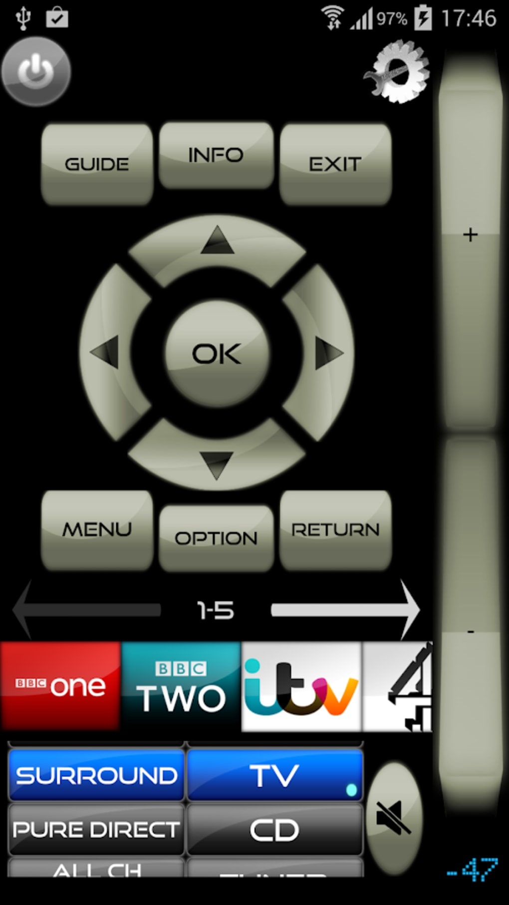 Remote for Samsung TV/Blu-Ray for Android - Download