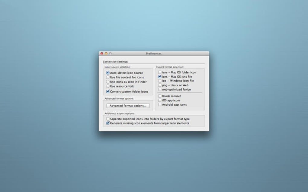 iConvert Icons for Mac - Download
