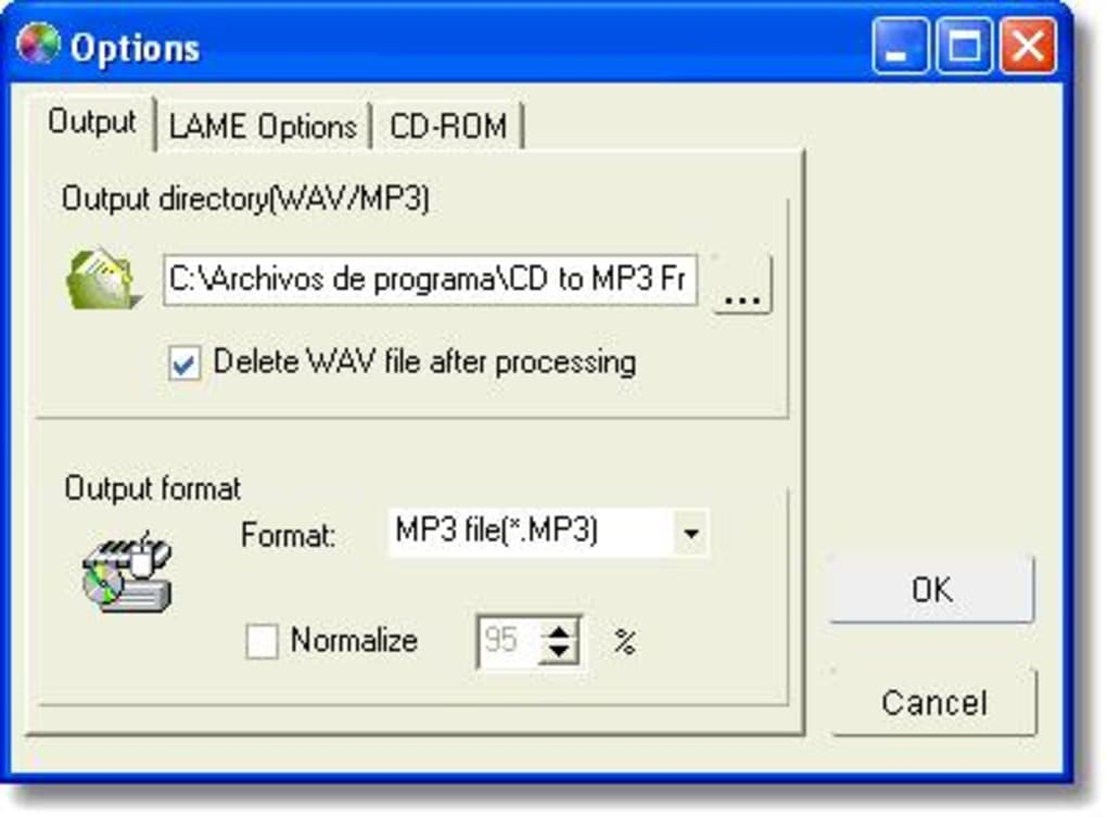 Free CD to MP3 Converter - Download 1/4 Screenshots