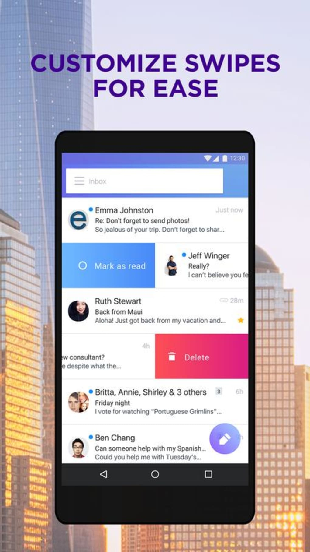 yahoo mail app for samsung