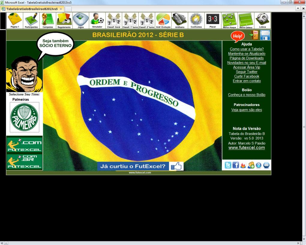 Tabela Do Brasileirao 2013 Serie B Download