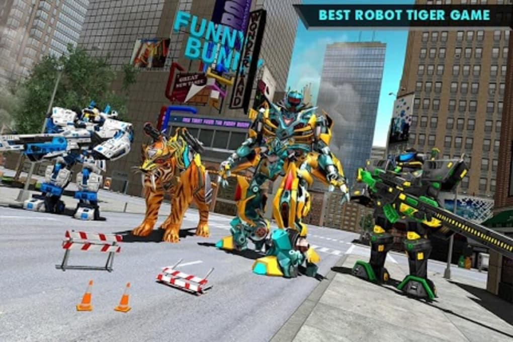 Real Robot Tiger Game  Tiger Robot Transforming