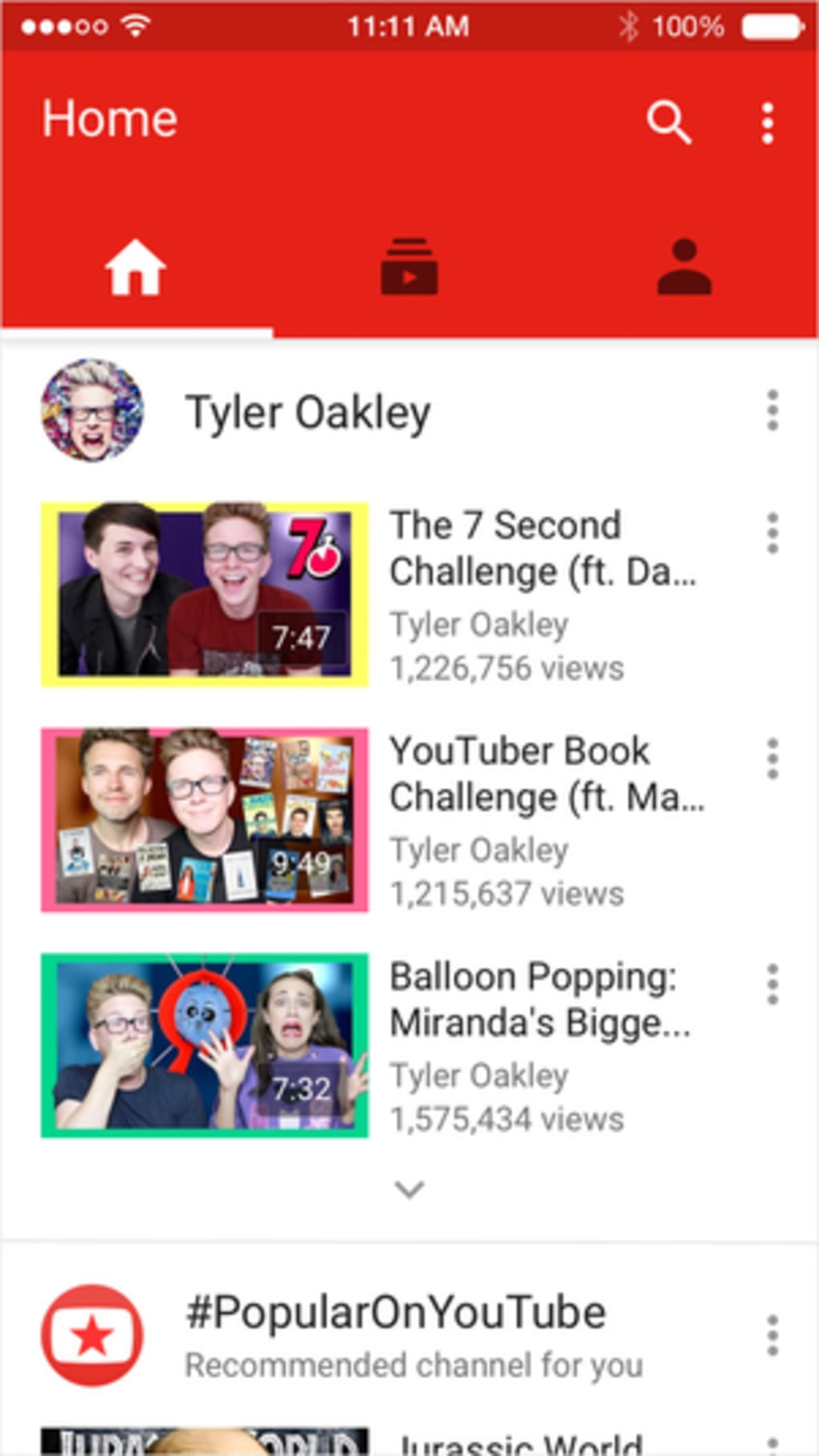 YouTube for iPhone - Download