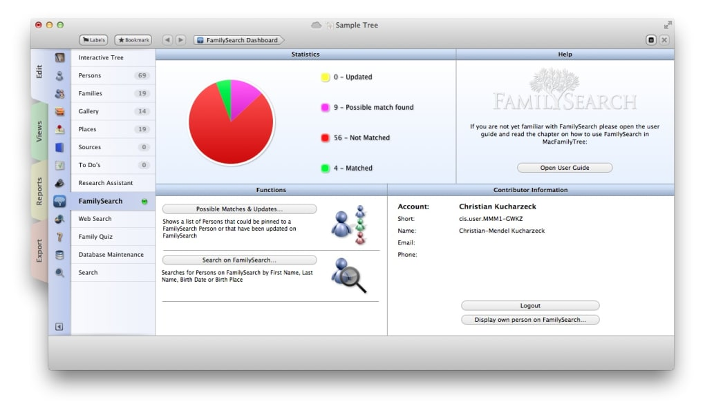MacFamilyTree (Mac) - Download
