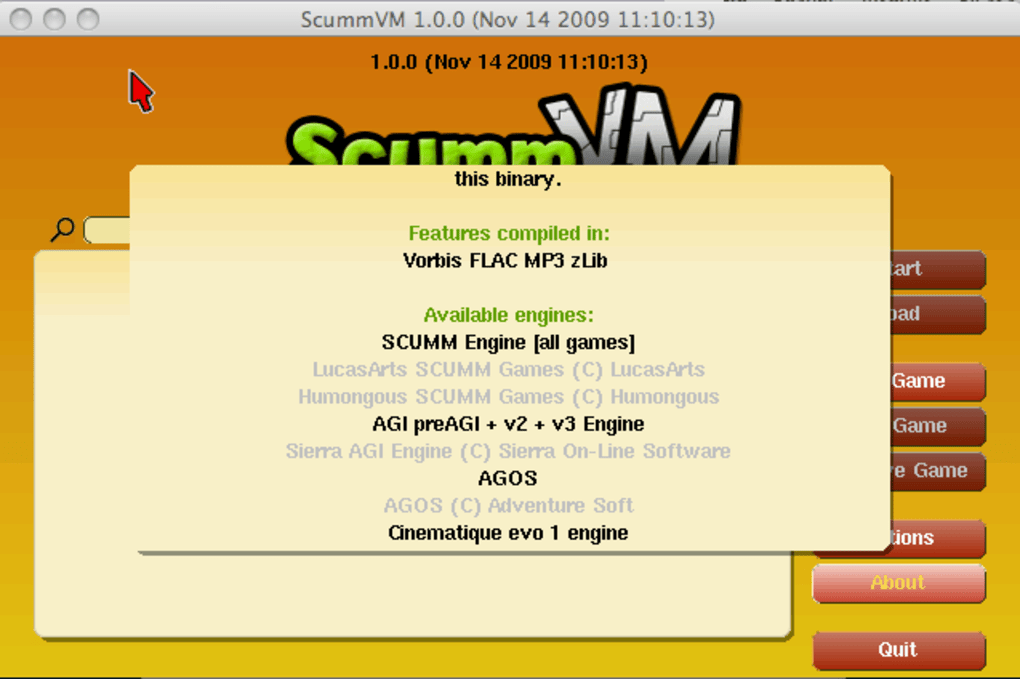 ScummVM for Mac - Download