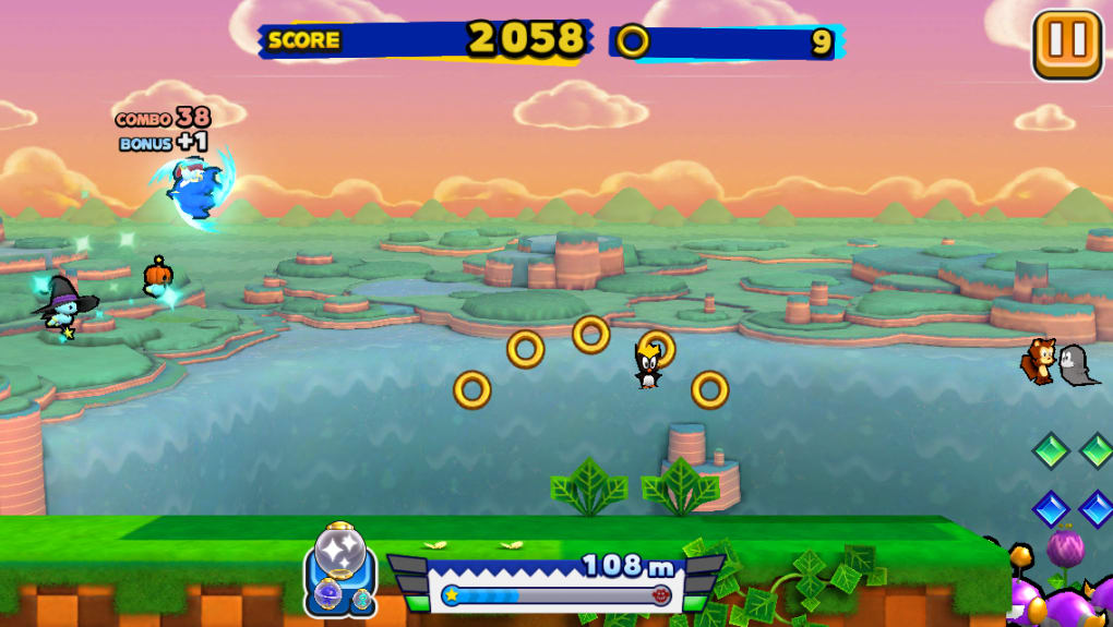 Sonic Runners para Android - Download