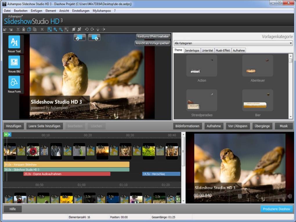 ashampoo video editor