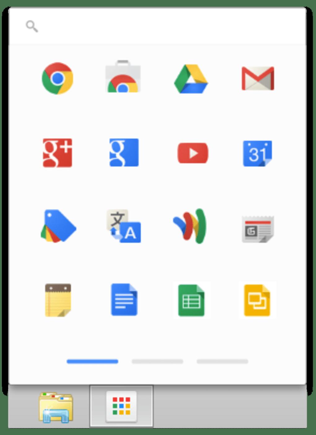 Lanceur d'applications Google Chrome - Télécharger