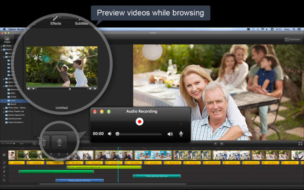 Photo show - Movie Maker for Mac - Download