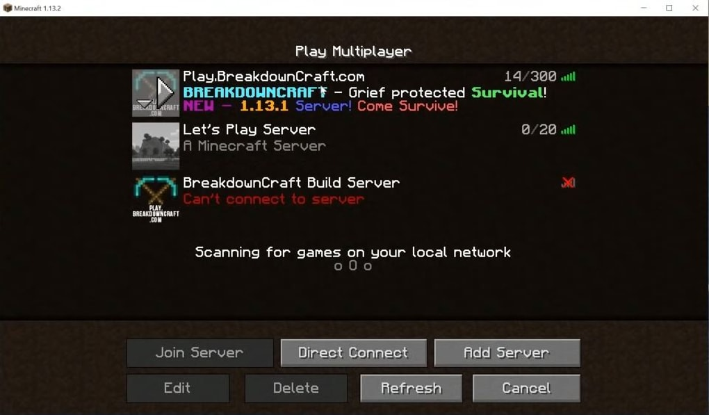 minecraft server 1.6 2 exe download