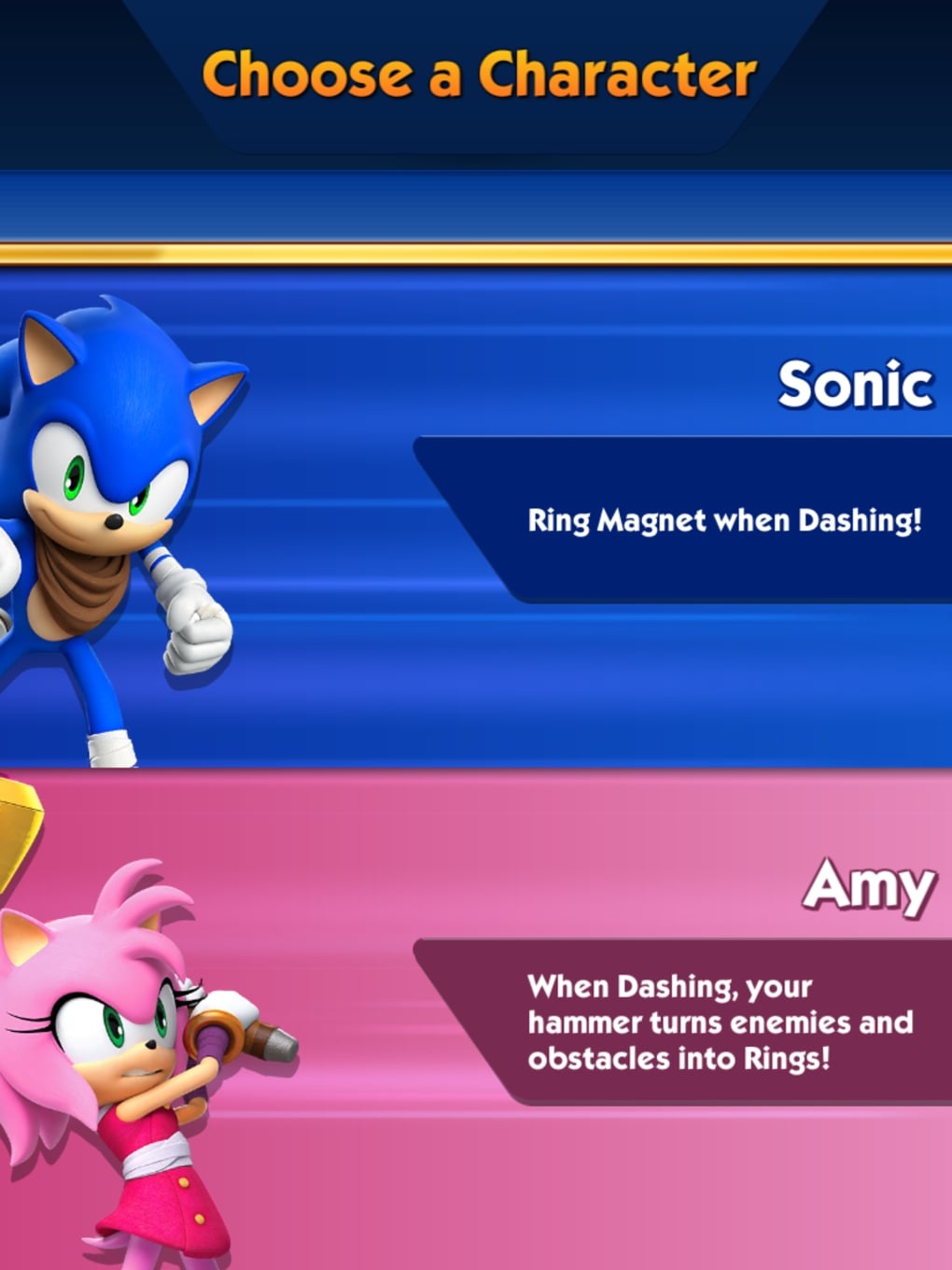 Sonic Dash 2: Sonic Boom for Android - Download