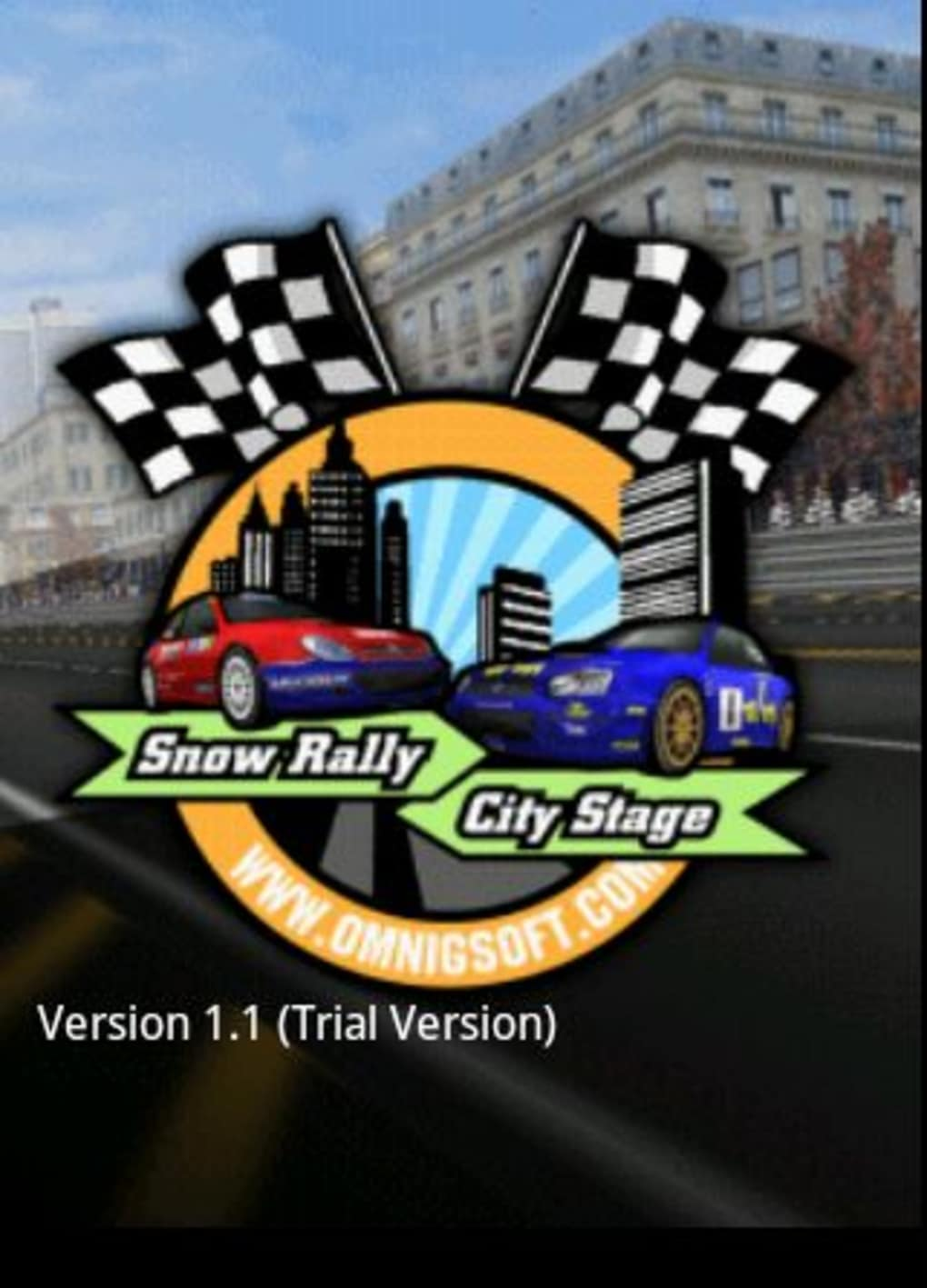 Snow Rally City Stage