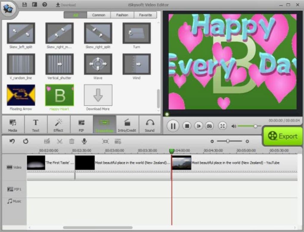 ISkysoft Video Editor 6 download mac