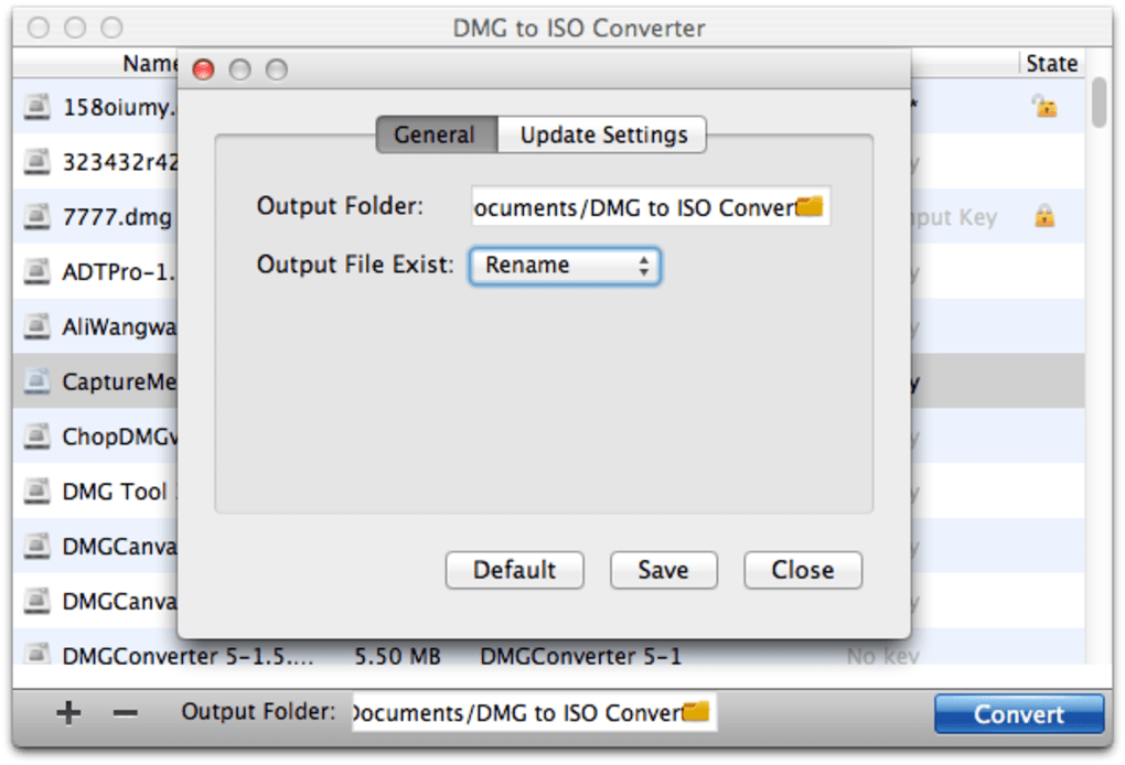 DMG to ISO Converter for Mac (Mac) - Download