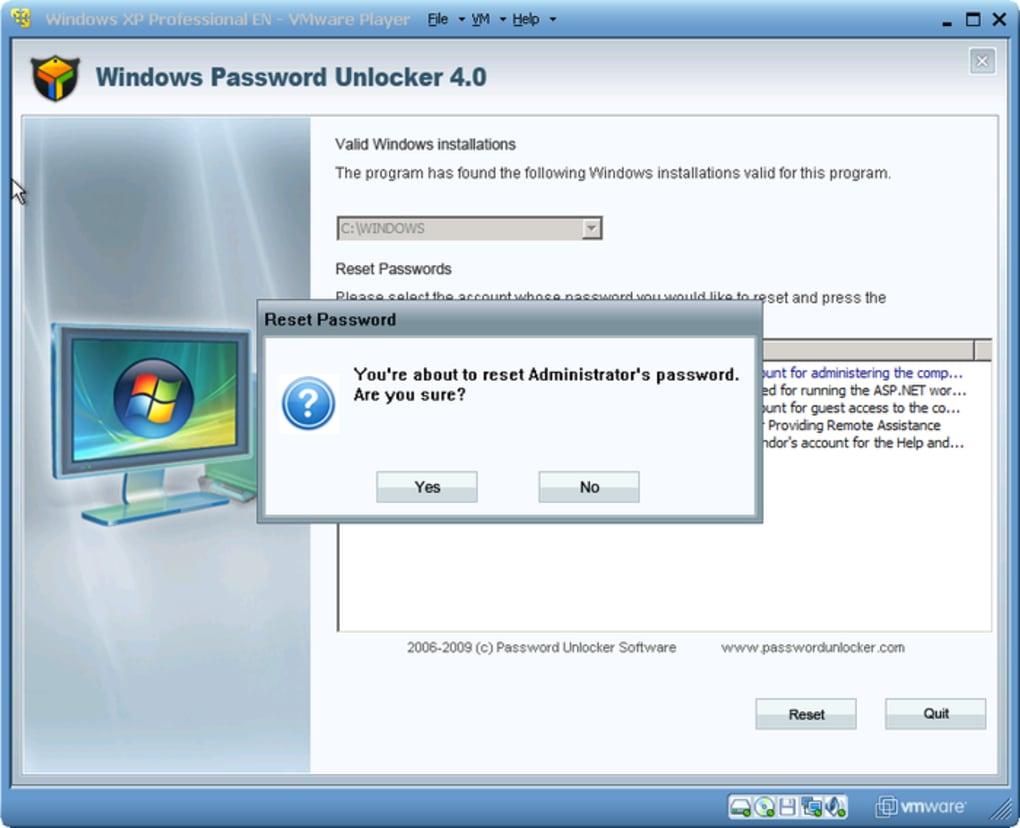 telecharger rar password unlocker pour windows 10