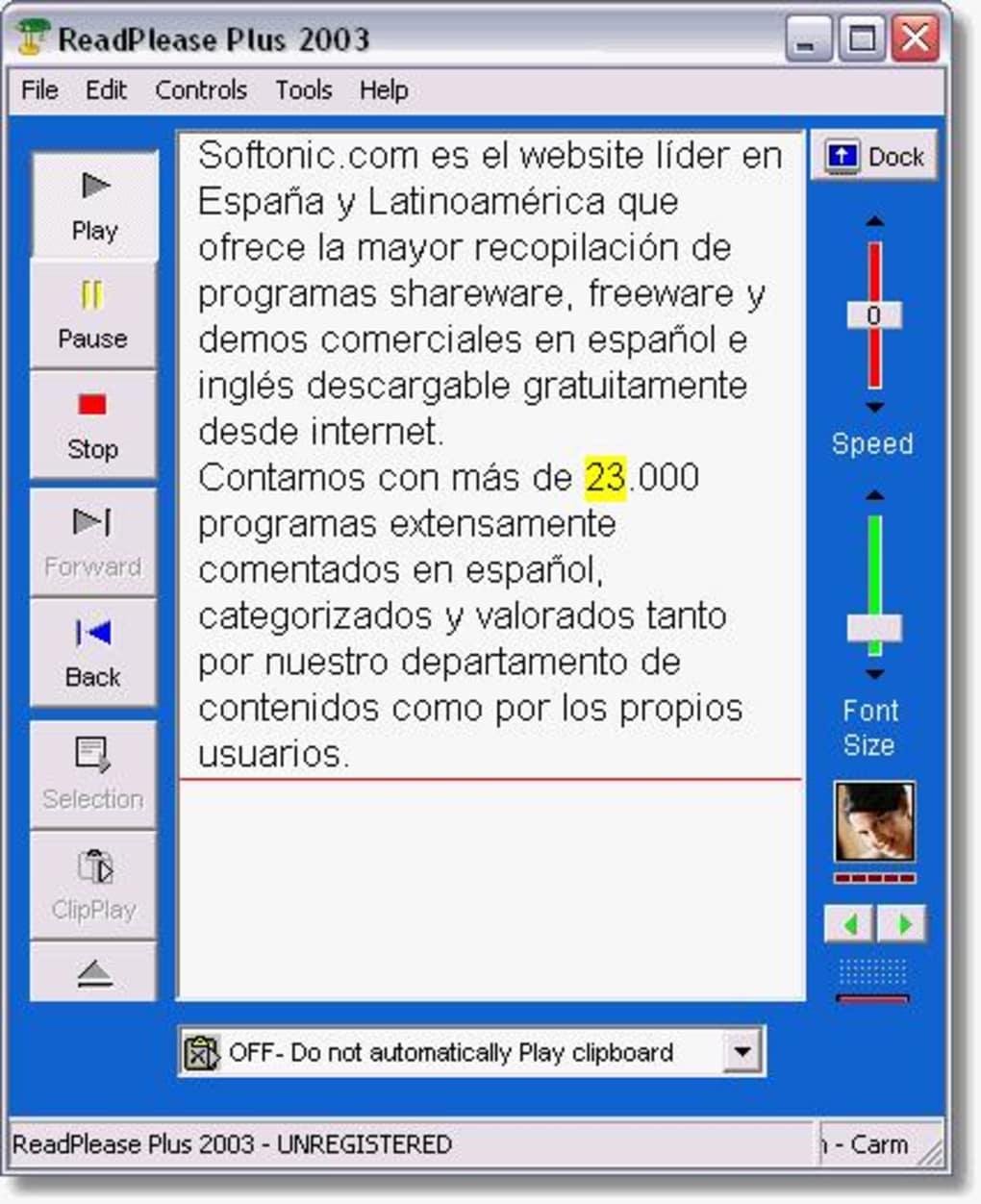 readplease 2003