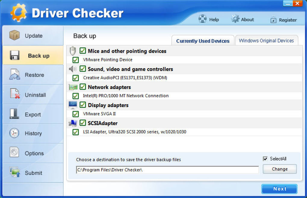 driver checker 2.7.5 gratuit