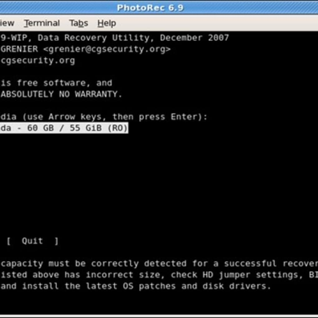 logiciel testdisk gratuit