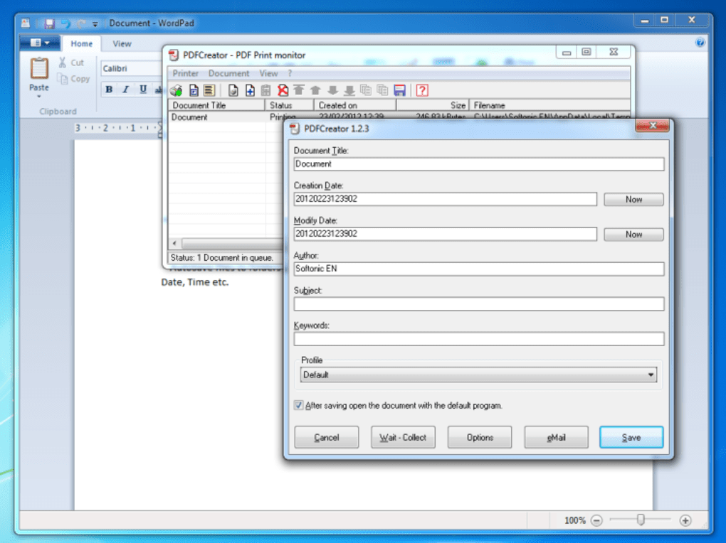 Download pdfcreator 2. 2. 1 – windows.