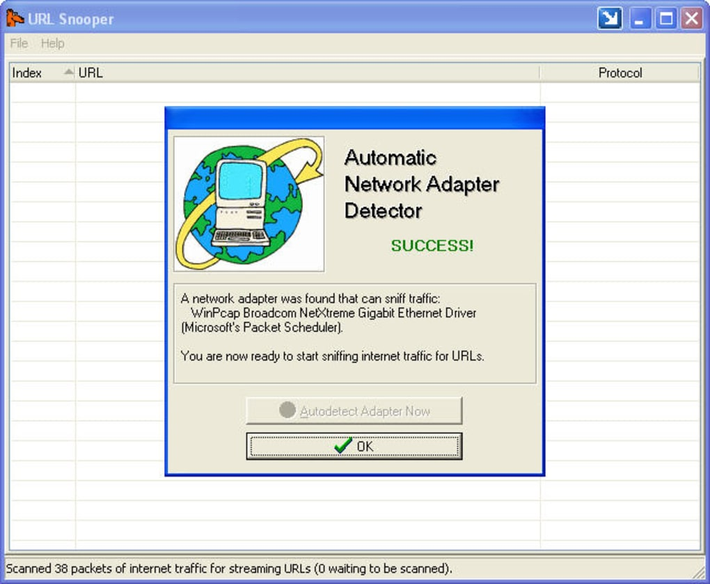 URL Snooper 2 29 01 - Download