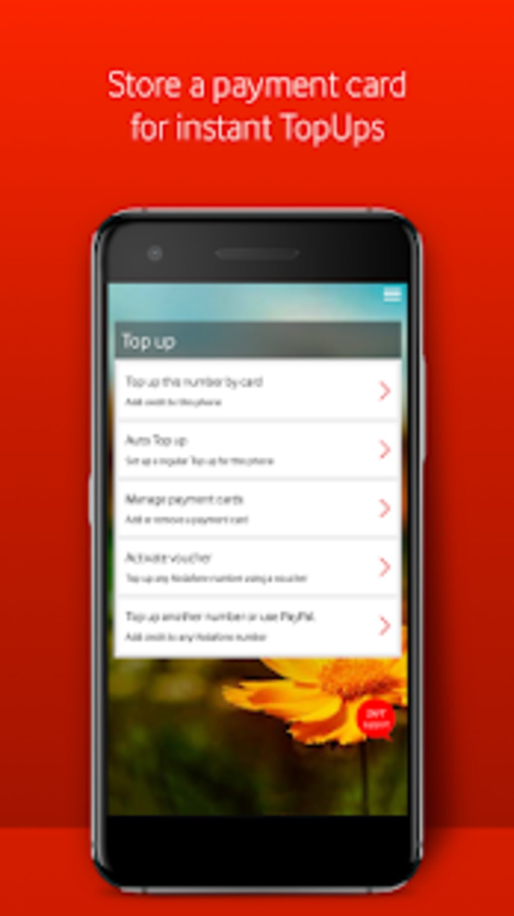 My Vodafone for Android - Download