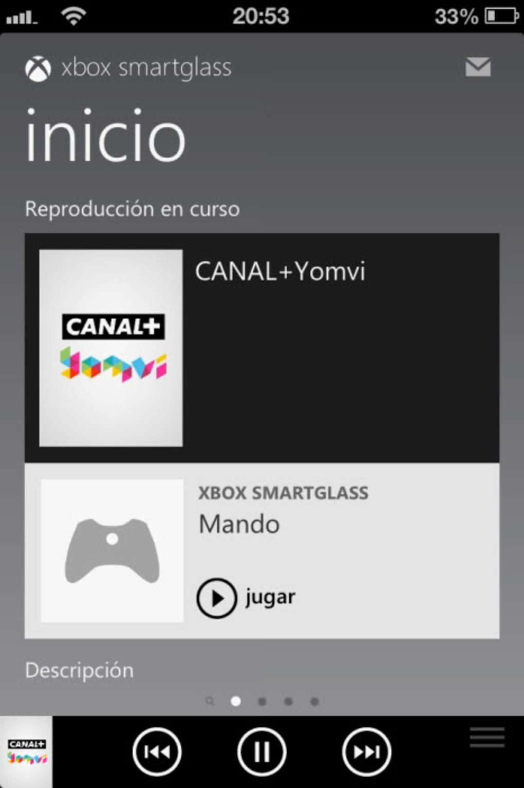 Xbox SmartGlass para iPhone - Descargar