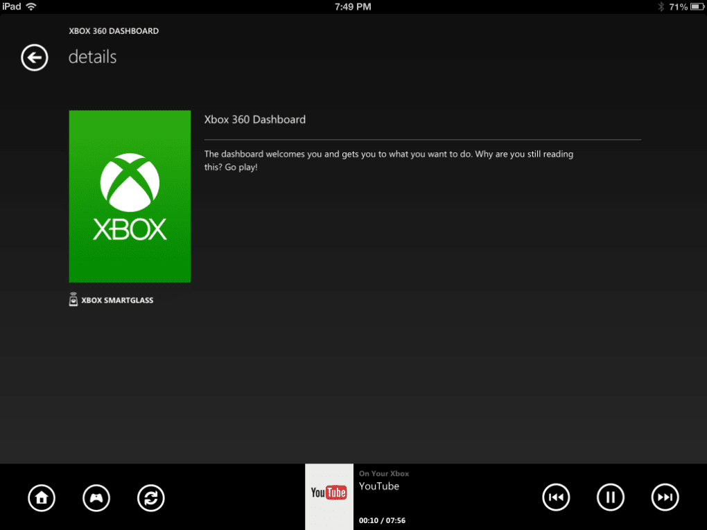 Xbox SmartGlass for iPhone - Download