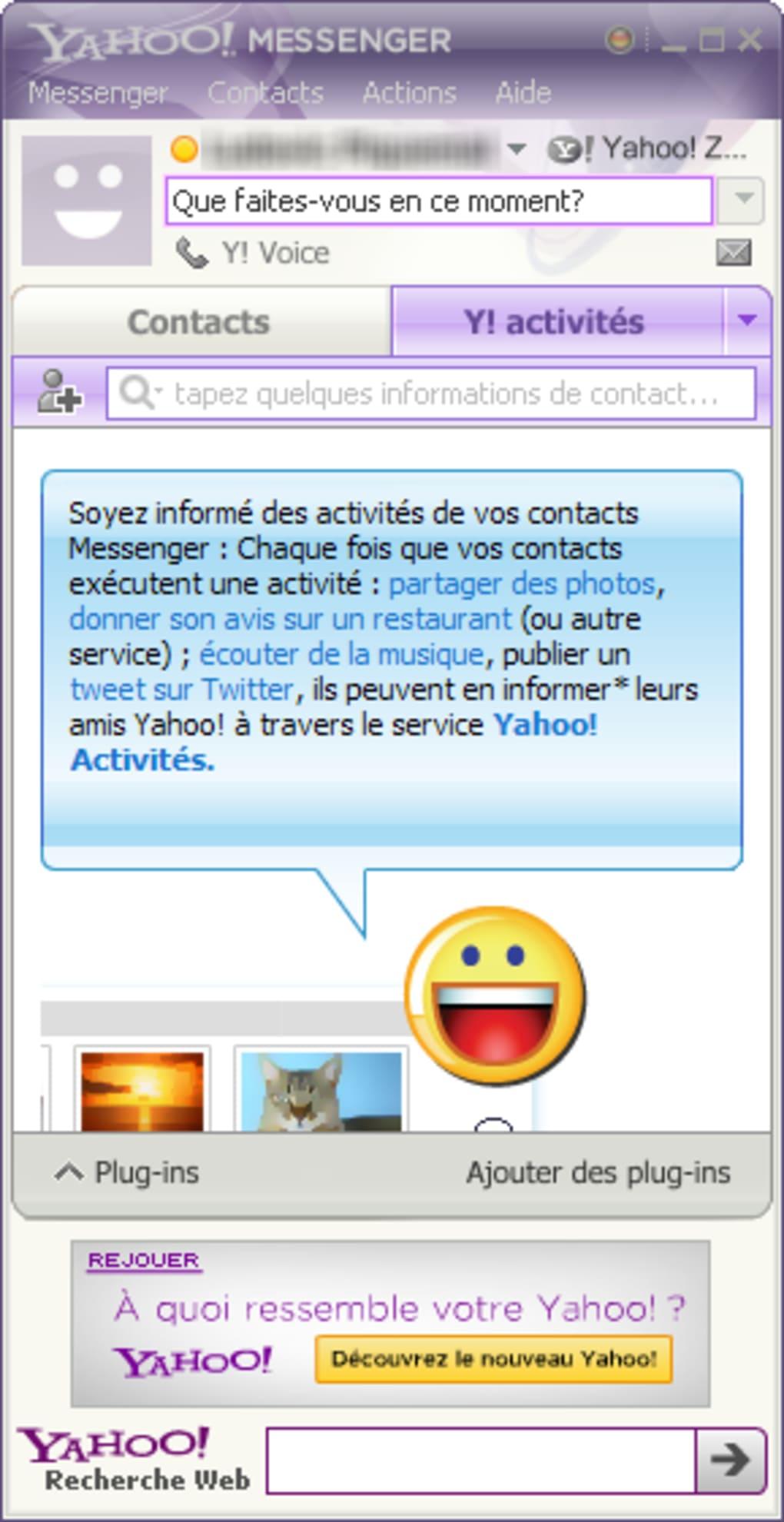 telecharger yahoo messagerie gratuite