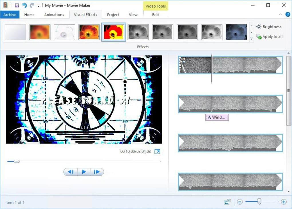 efeitos para windows movie maker 2.6