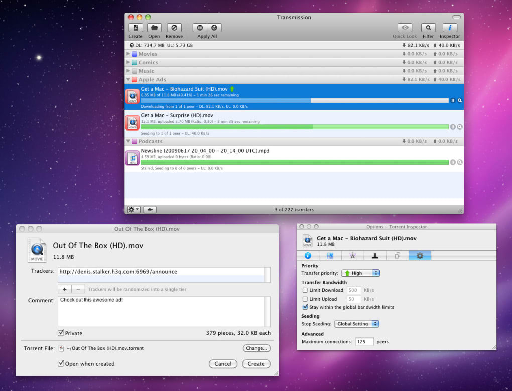 torrents download software for mac