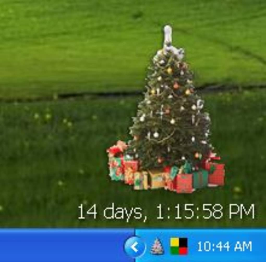 free christmas tree screenshot