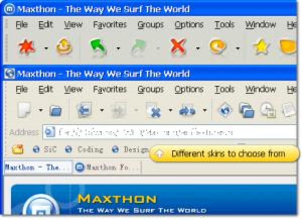 maxthon gratuitement franais