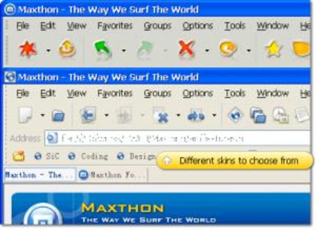 maxthon standard softonic fr